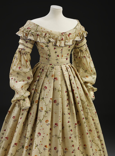 1837 Yellow Strawberry Dress full
