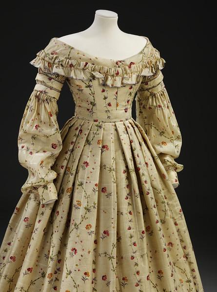 1837 Yellow Strawberry Dress full