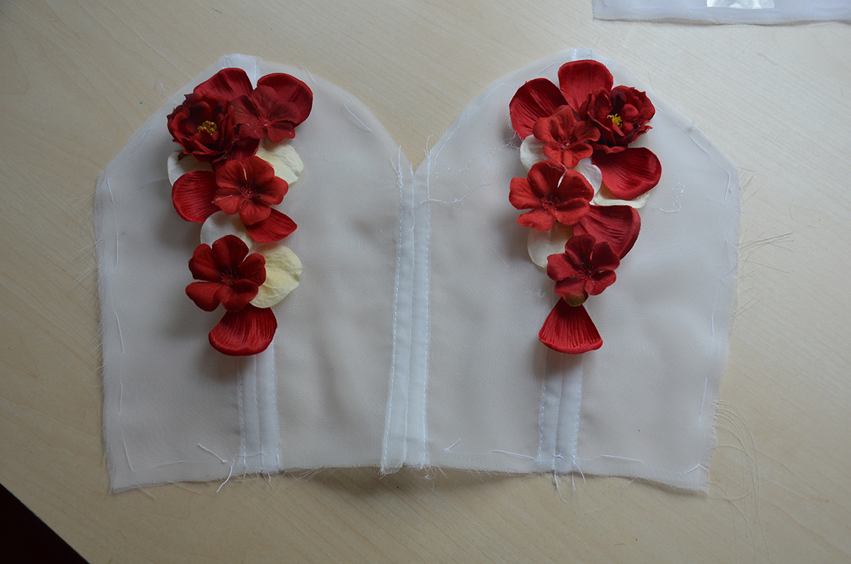 Fake Flowers Angela Claytons Costumery Creations
