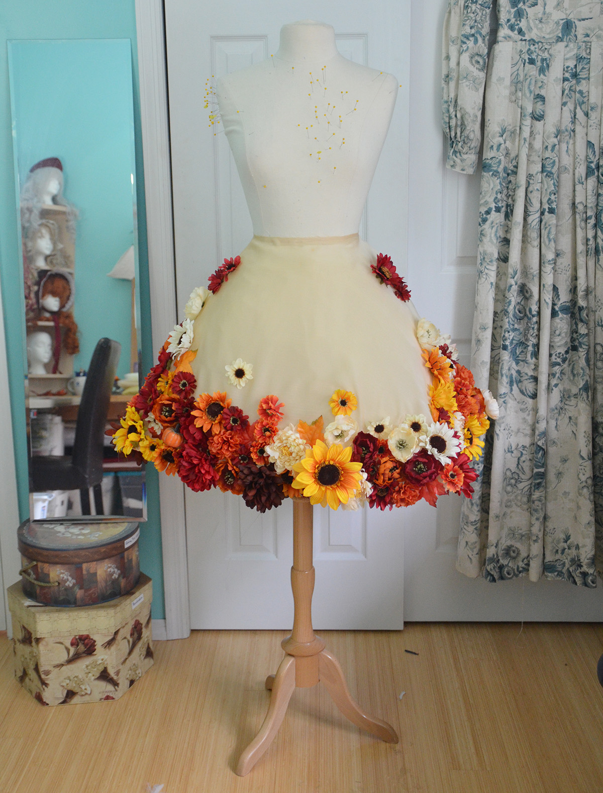 Flower Dress Angela Claytons Costumery Creations