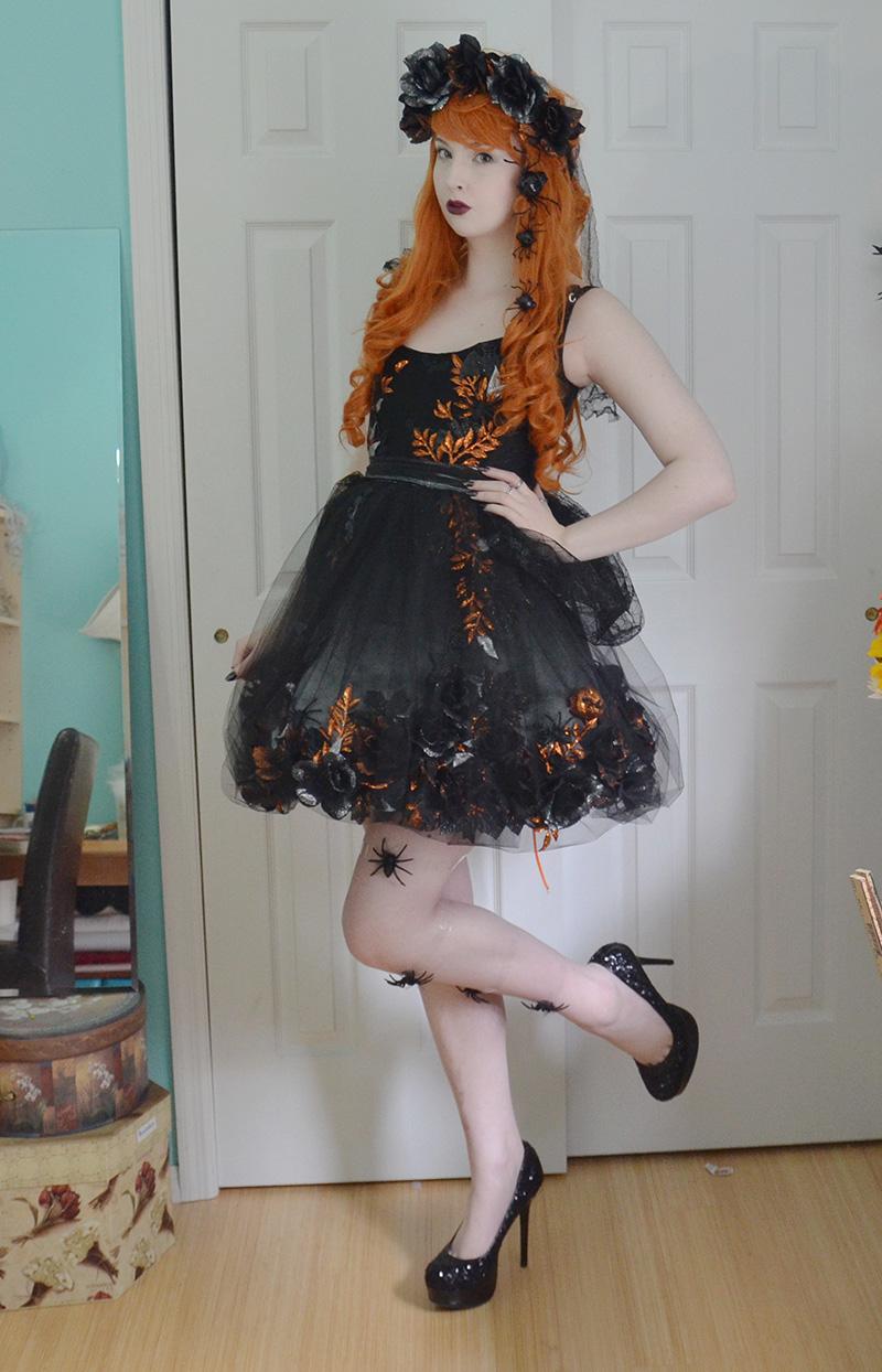 635281fce Diaphanous Flower Dresses – Angela Clayton s Costumery   Creations