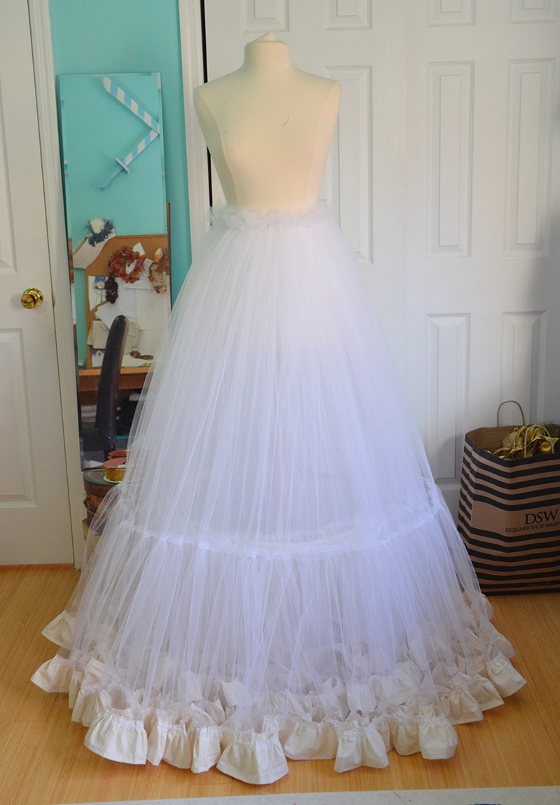 How to sew a petticoat 78
