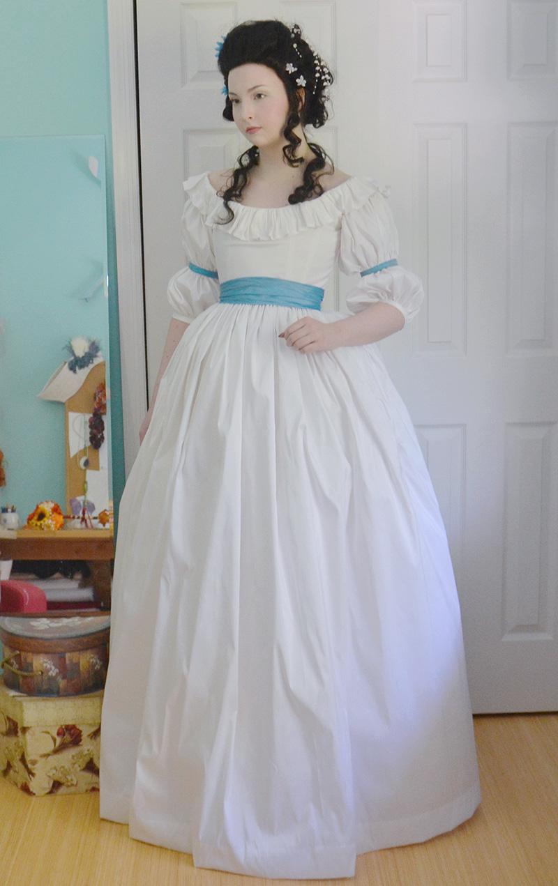 Structured Chemise a la Reine – Angela Clayton's Costumery ...