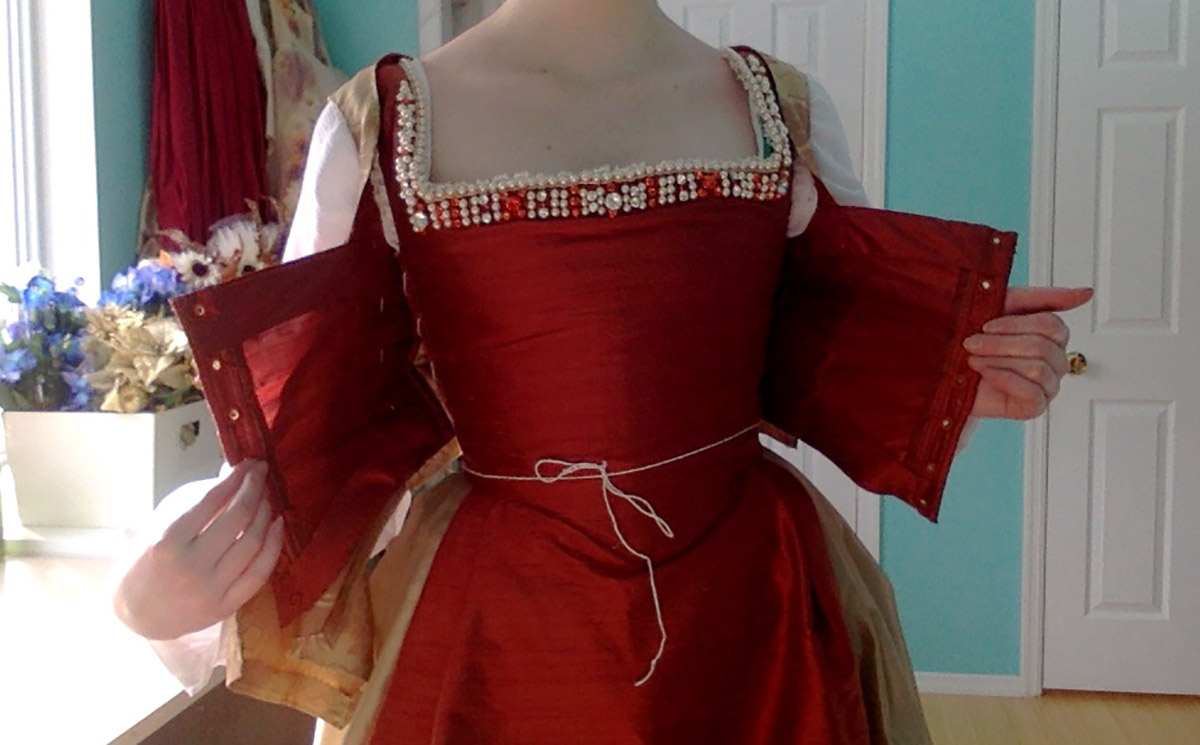 Making a 16th Century Bodice, Part One – Angela Clayton's