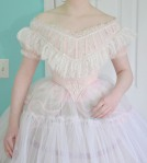 Making a Pink Sateen Ball Gown, 1860's Inspired, PartTwo