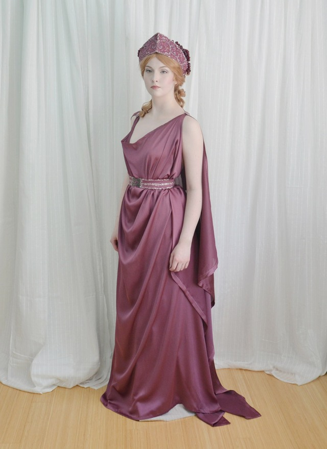 The Grecian Costume : Making a Chiton, Crown, and Girdle – Angela ...