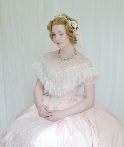 Angela Clayton Evening Gown 1860 -