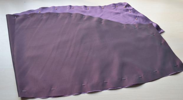 purple taffeta -0826