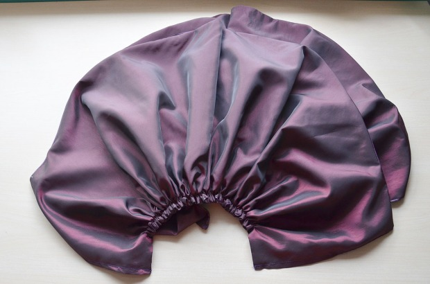 purple taffeta -0832