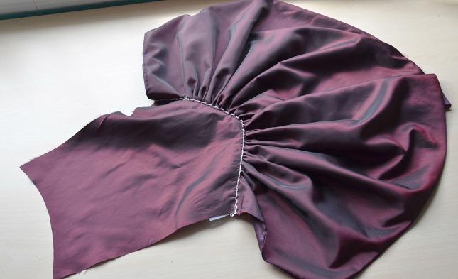 purple taffeta -0845