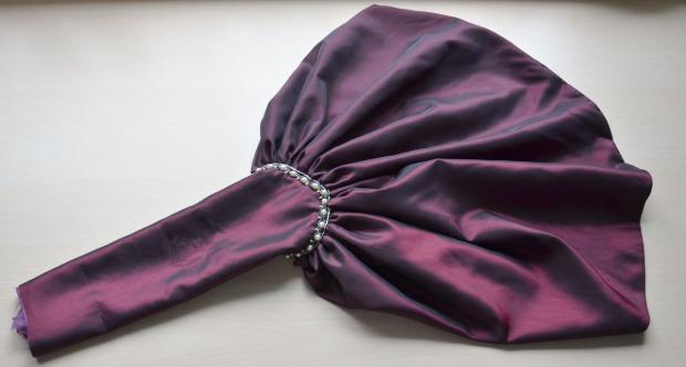 purple taffeta -0866