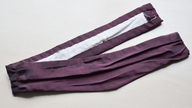 purple taffeta -4324