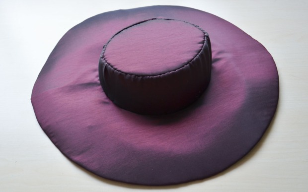 purple taffeta -5937